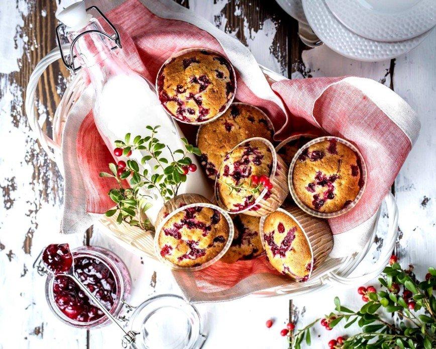 На десерт: готовим ароматные кексы с Натальей Оконешниковой