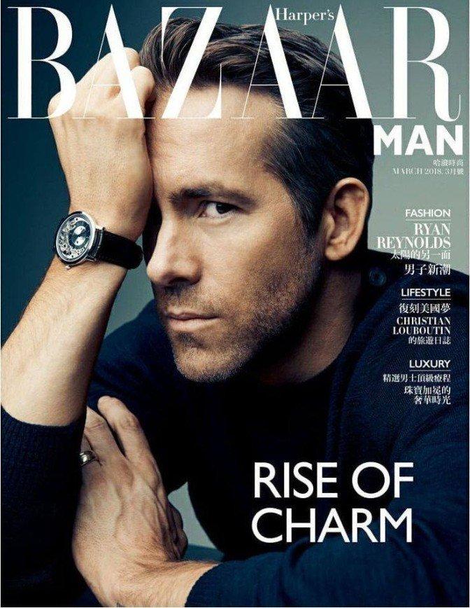 «Куда Йоханссон смотрела?»: Райан Рейнольдс украсил обложку журнала