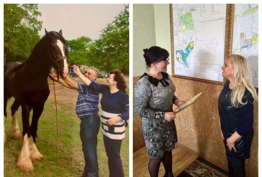 Невеста с приданым: Наталия Гулькина показала подаренного коня Руслана