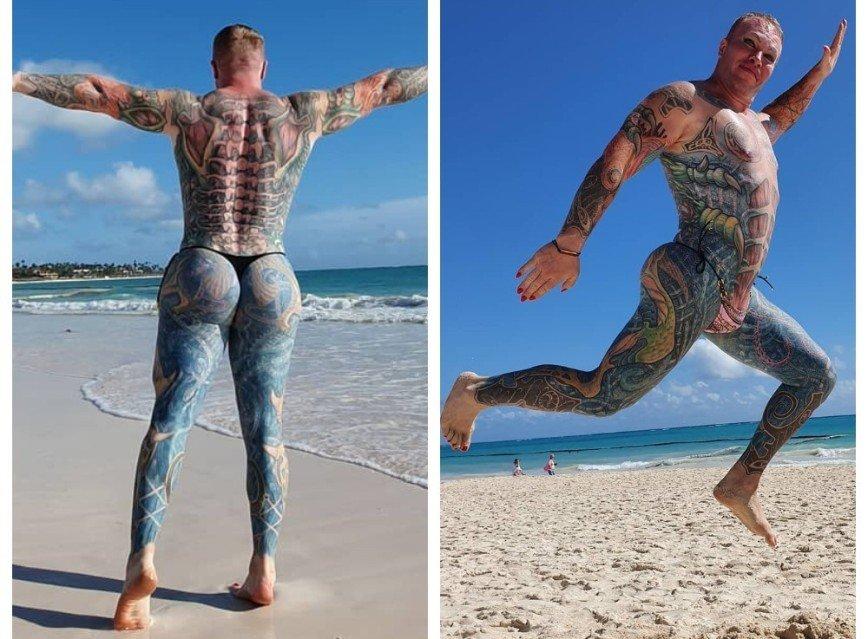Экспромт в душе: Александр Шпак исполнил танец в розовых стрингах