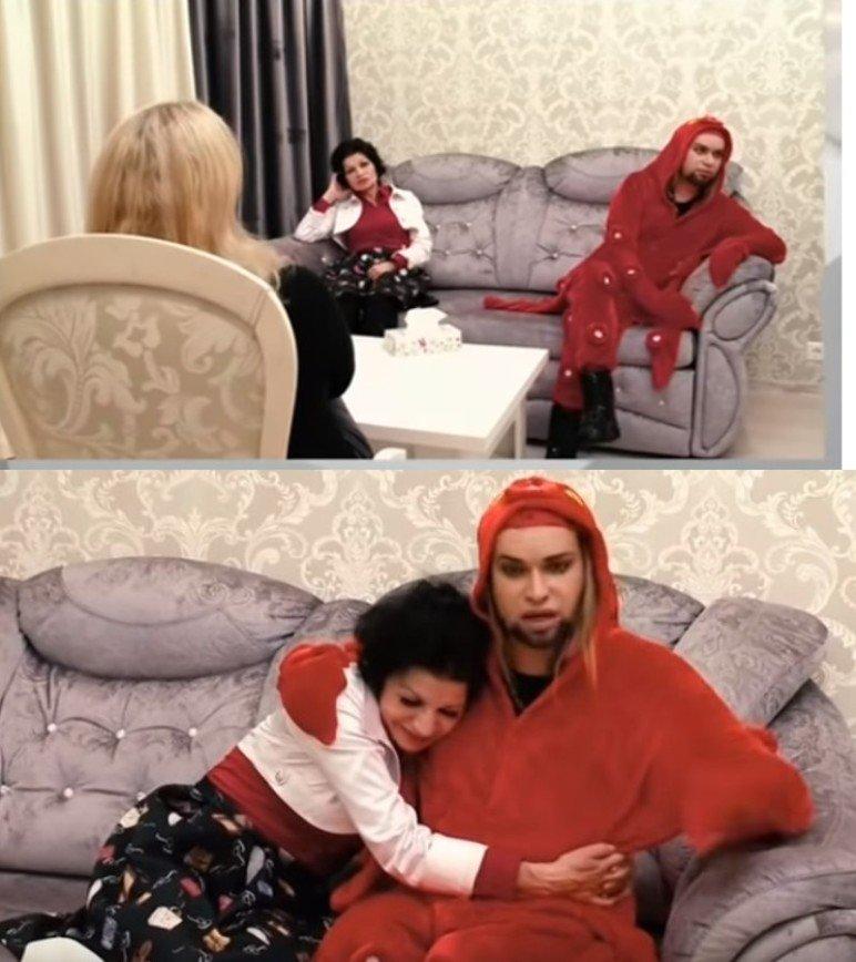Терапия в помощь: Гоген Солнцев пытается помириться с пожилой женой