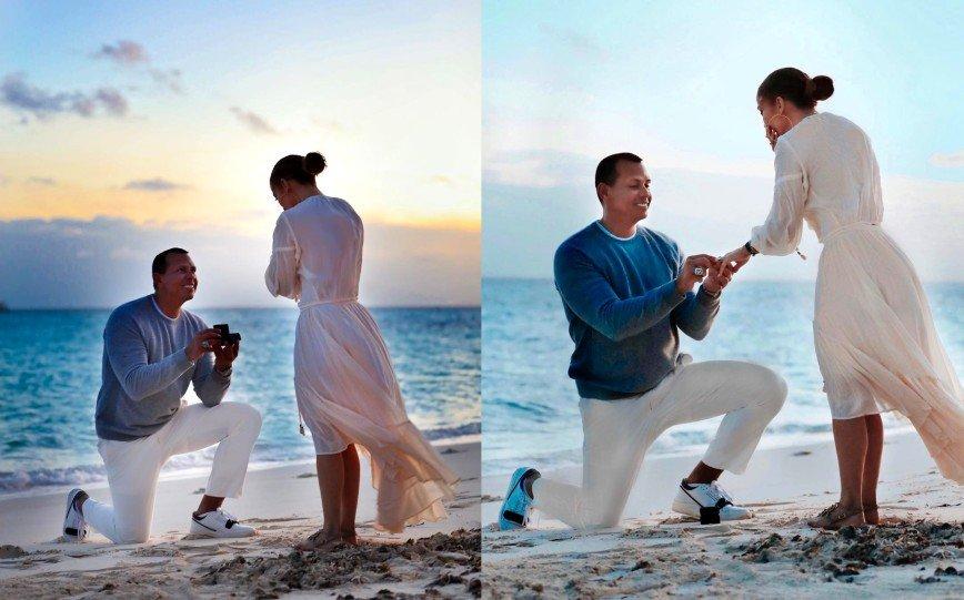 Мечта каждой женщины: Дженнифер Лопес показала, как жених делал ей предложение