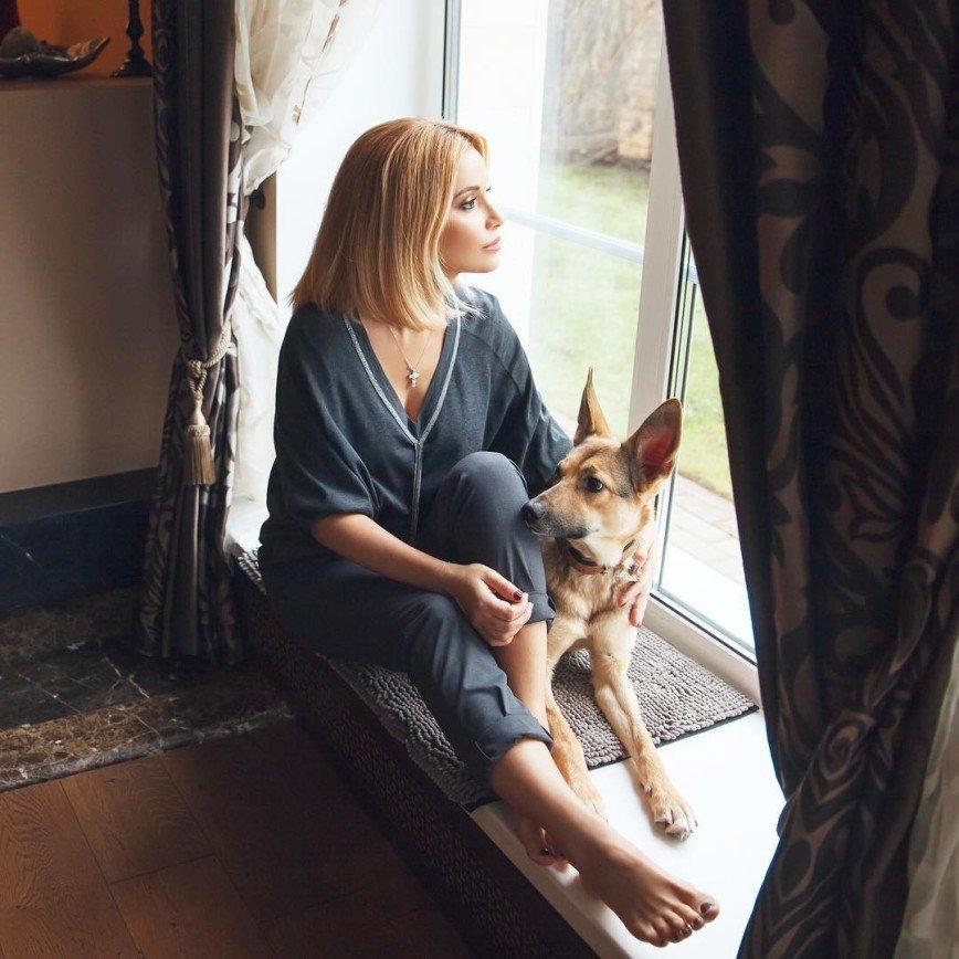 «Моя тень»: Ольга Орлова рассказала об отношениях с новым питомцем