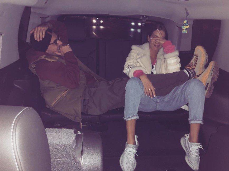 «Ну наконец-то»: Кети Топурия и Гуф сфотографировались вместе