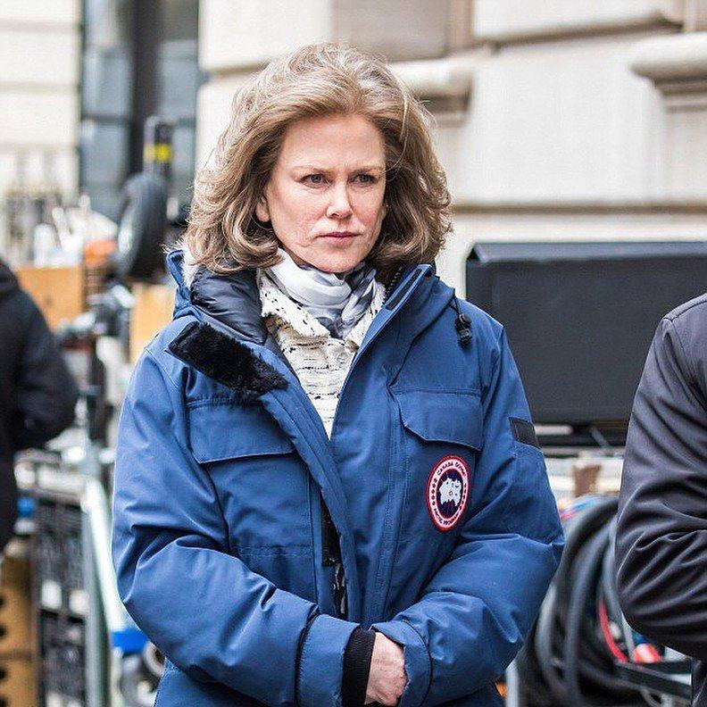 «Пахнет оскаром»: колоритная Николь Кидман порадовала со съемочной площадки