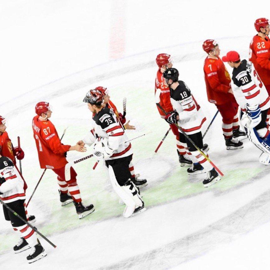 «Имели все шансы»: хоккеисты сборной России проиграли Канаде в четвертьфинале ЧМ