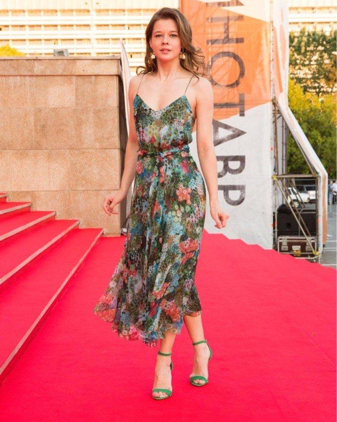 «Кинозолушка»: Катерина Шпица чуть не опоздала на показ фильма в Сочи