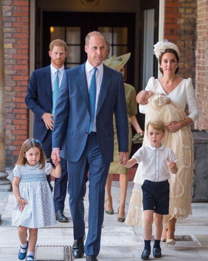 «Сколько-сколько?»: у трехмесячного сына принца Уильяма появилось шесть крестных