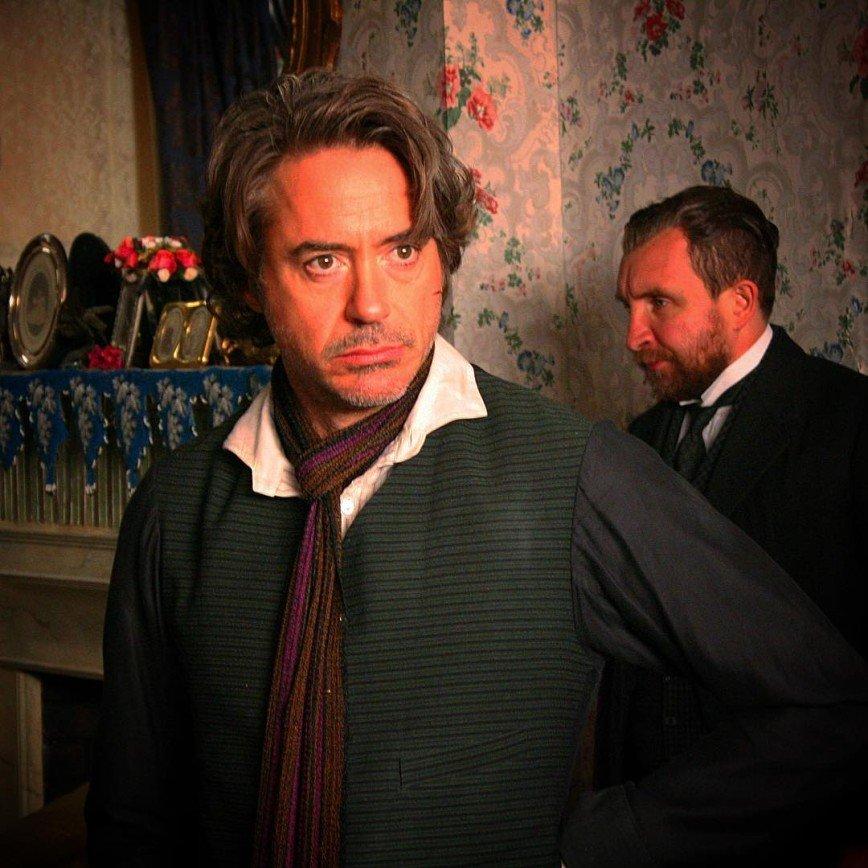 "Роберт Дауни-младший анонсировал начало съемок ""Шерлока Холмса"""