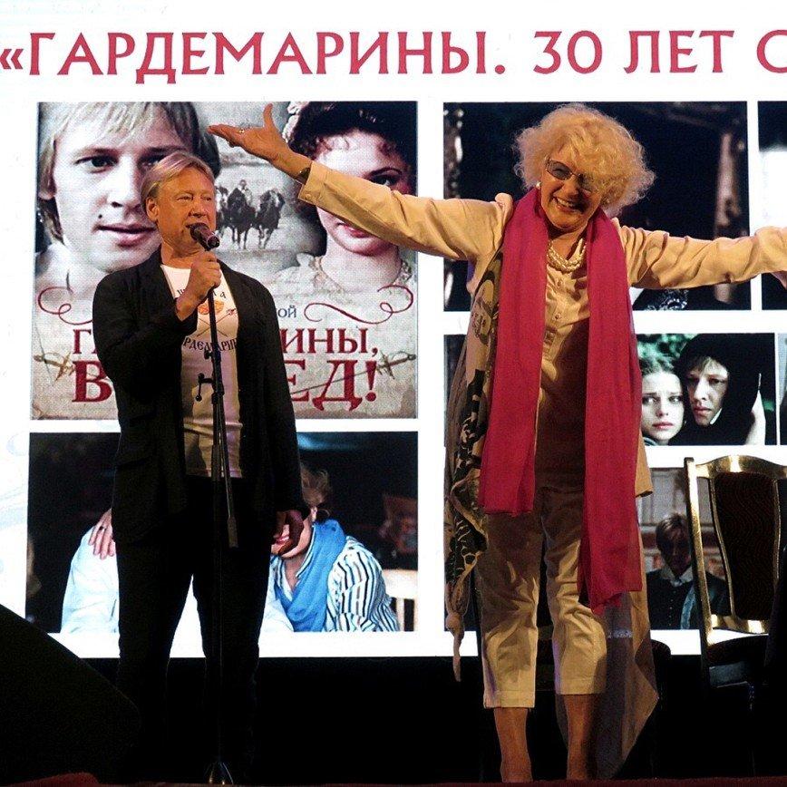 В Евпатории отметили 30 лет культовой картины «Гардемарины, вперед!»