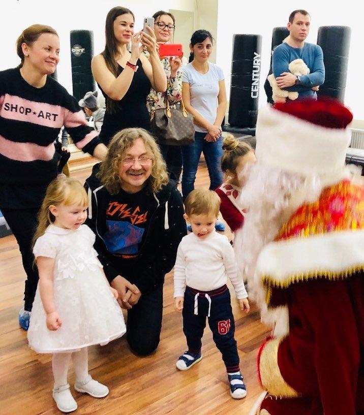Игорь Николаев рассказал о первом новогоднем утреннике дочки Вероники