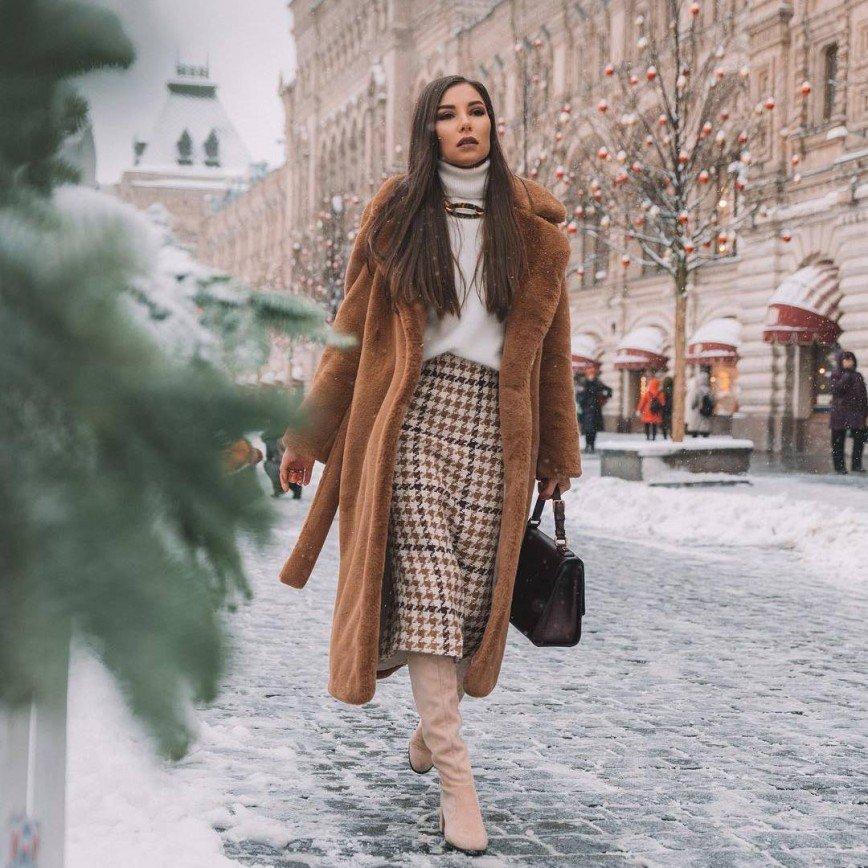 Как носить шубу-чебурашку: советы от стилиста Карины Нигай