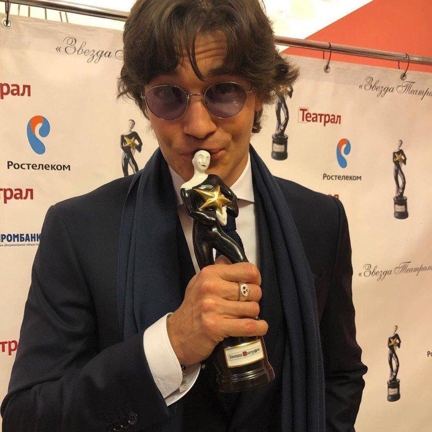 Максим Матвеев получил «Звезду театрала»