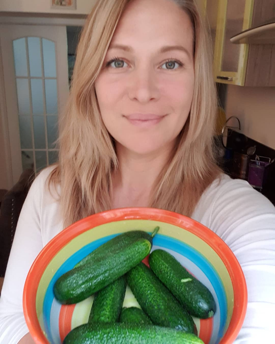 Результат за 2-3 дня: огуречная диета от Виктории Макарской