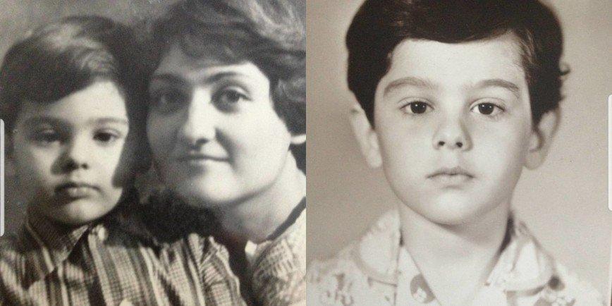 Маленький Антоша: Виктория Макарская показала детские фото своего мужа
