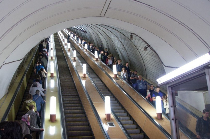 Фанаты ЦСКА пострадали при поломке эскалатора в римском метро