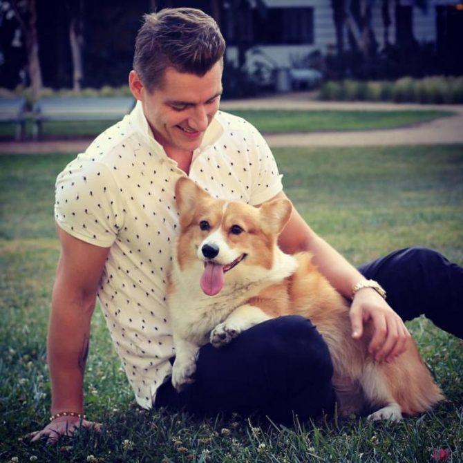 Прощай, мой друг: у Алексея Воробьева умерла любимая собака