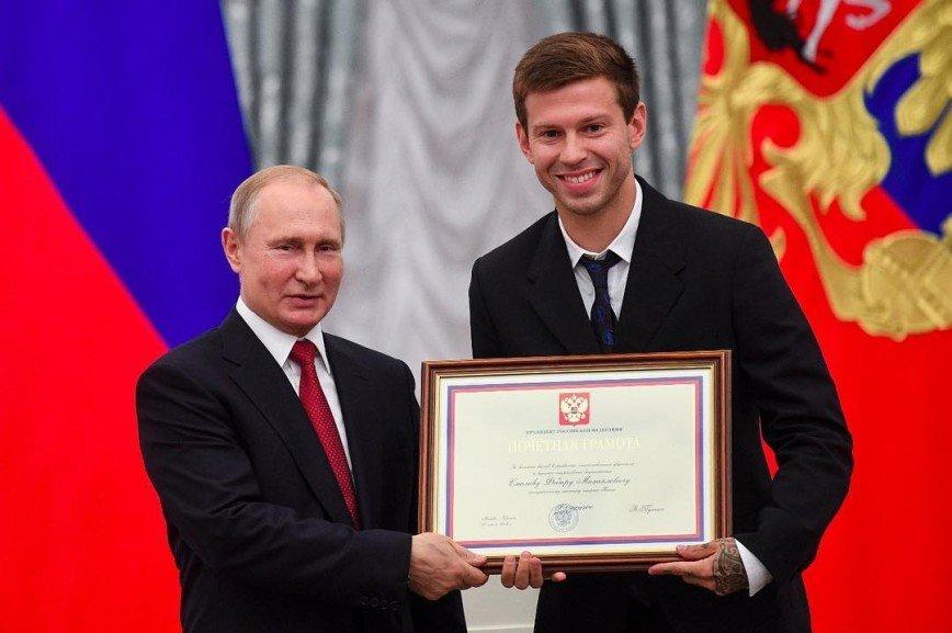 В России разгорелся скандал после присуждения футболистам сборной званий мастеров спорта