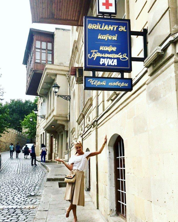 «Идиллия»: Татьяна Навка и Дмитрий Песков наслаждаются отдыхом в Баку