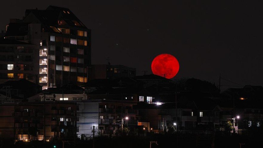 «Кровавая луна»: россияне увидят самое долгое и зрелищное затмение в XXI веке