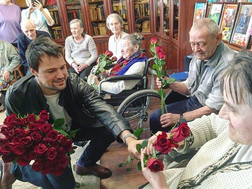 Фронтовики в доме престарелых частные дома престарелых в спб вакансии