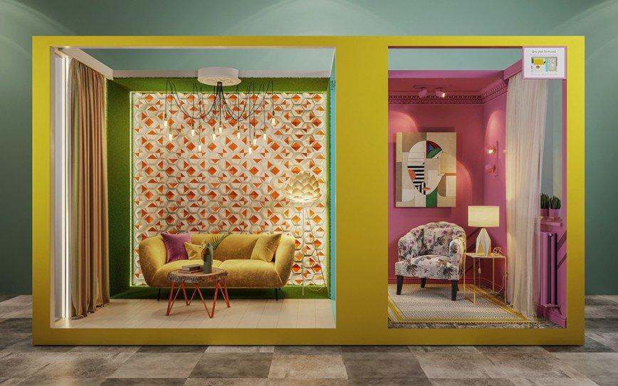 ОБИ представит свежий взгляд на традиционный интерьер гостиной  в шоу руме в МЕГЕ Теплый Стан