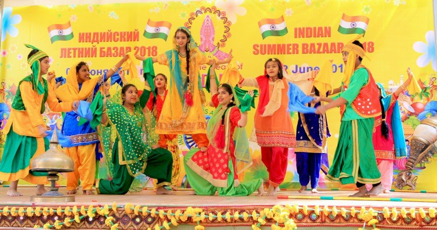 Путешествие в Индию в пределах Садового кольца в первый день лета