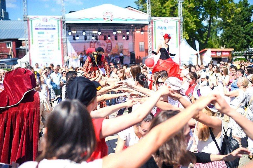 Большой Фестиваль Италии/Grand Italia Fest 2018 собрал в Москве более 75 000 человек
