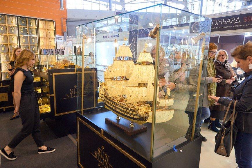 Международная выставка ювелирных и часовых брендов «Новый Русский Стиль» открывается в мае