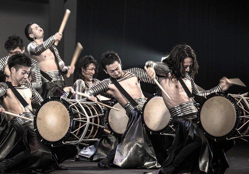 Шоу японских барабанщиков «BUKYO – DRUMHEART»: попробуй перебить!