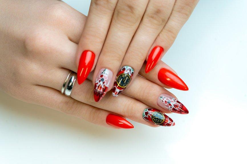 Ногти в большом городе, или Большой город на ногтях: новый тренд в маникюре
