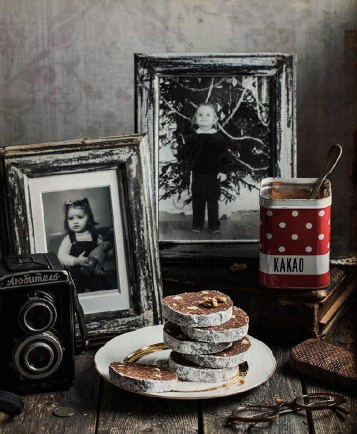 Бабушкины рецепты, вкусы нашего детства: пирожное «Картошка», печенье «Персики» и шоколадная колбаса
