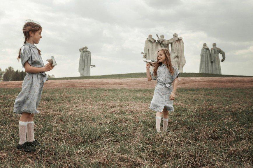 Есть только миг: пронзительная фотоссесия ко Дню Победы у памятника 28 панфиловцам