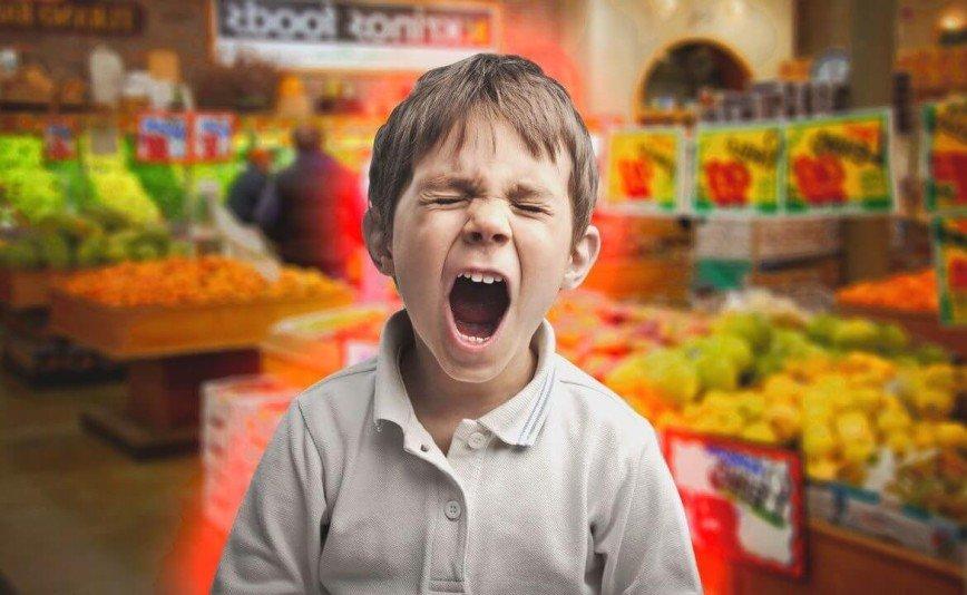 Как сходить с ребенком в магазин и не сойти с ума