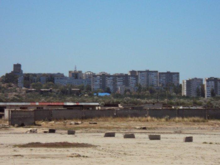 Панорама практически ,весь город мрачноват и пыльноват