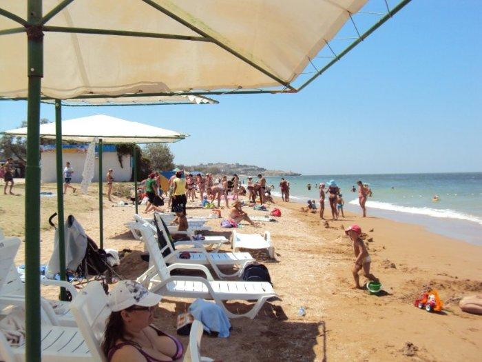 пляж в г.Щелкино и это в 14-30
