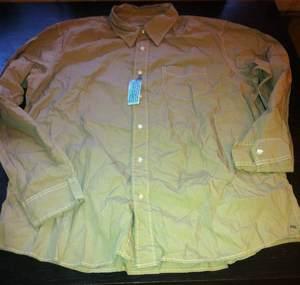 рубашка American Eagle 100% хлопок, отличного качества. ХХL (56–58)