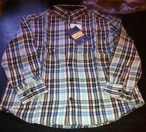 клетчатая фланелевая рубашка Abercrombie&Fitch размеры М (48–50) L (52) XXL (56–58)