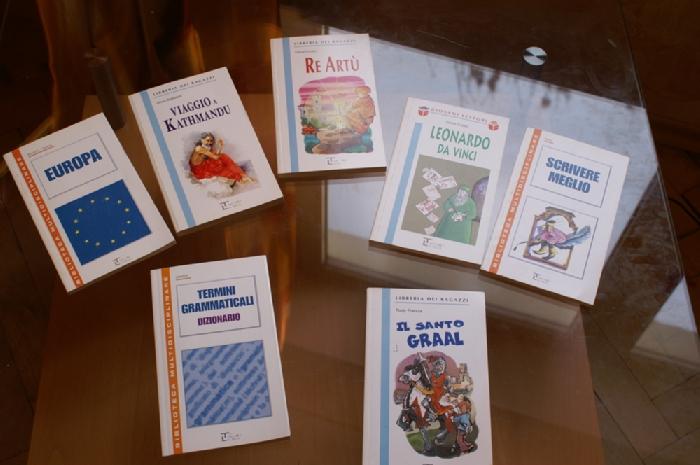 Книжки на итальянском (адаптированные). За 7 штук - 500 рублей.