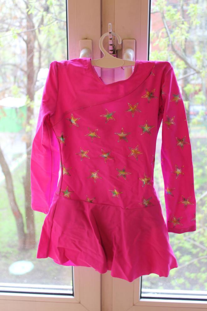 Рейтинговое платье для бальных танцев на 4 года 300 руб размер 110-116