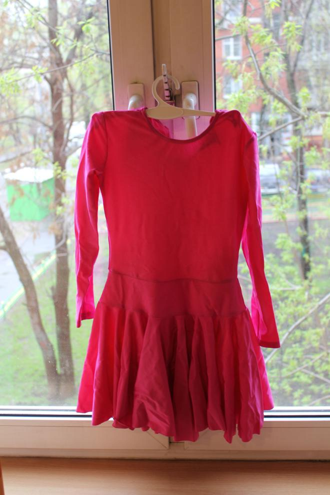 Рейтинговое платье для бальных танцев на 5 лет размер 116 500 руб