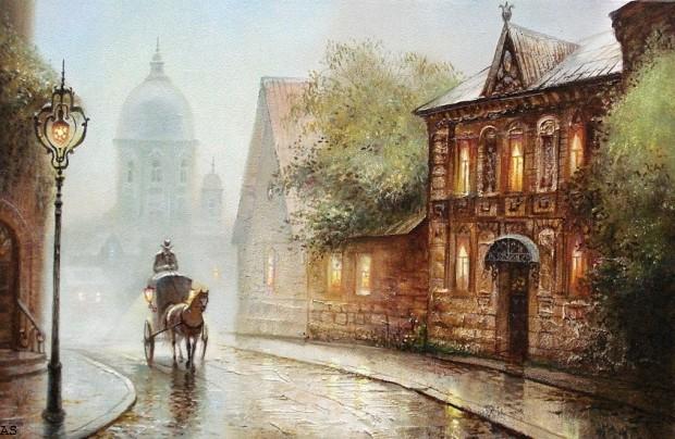 Оригинал картины Светланы Ясеневой, с которой сделана схема.