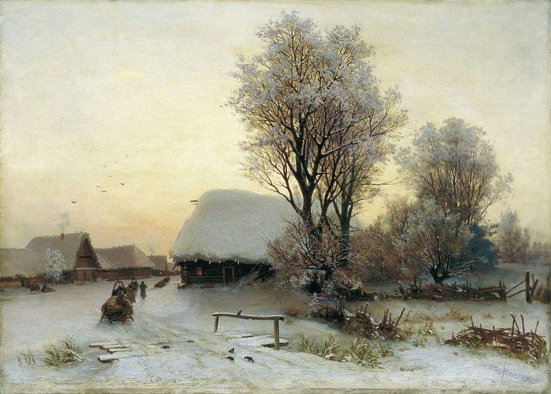 Оригинал картины, по которой Екатерина Волкова создала изумительную схему.