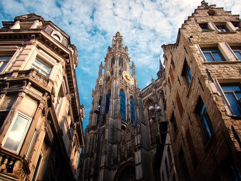 Автор: Gimmy, Фотозал: Туристические зарисовки, Our Lady Cathedral. Антверпен. Бельгия. 2012