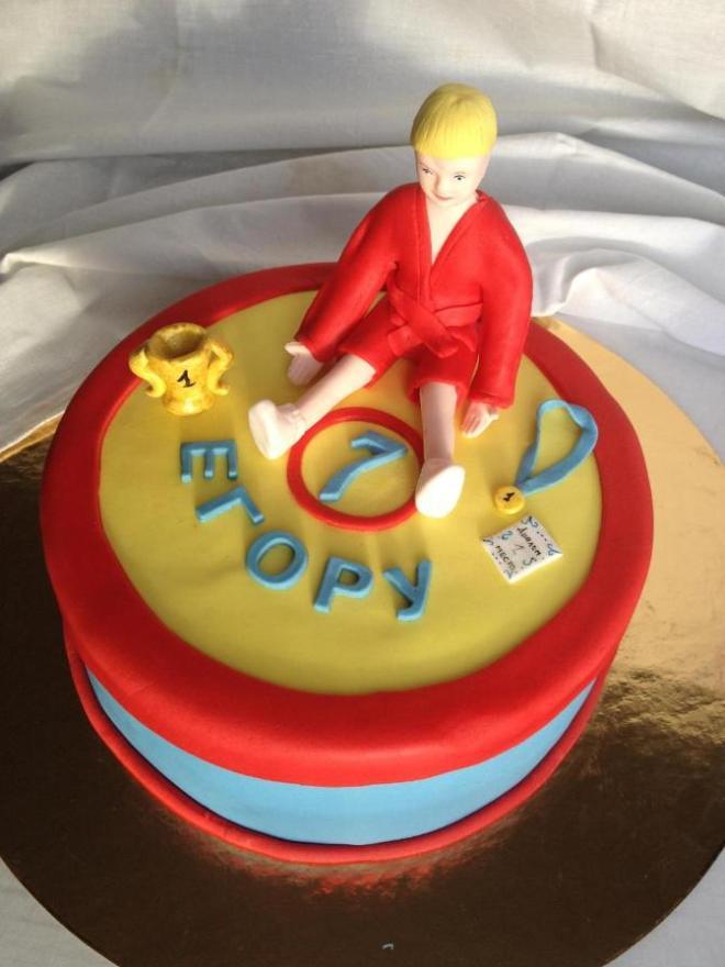Торт для самбиста фото