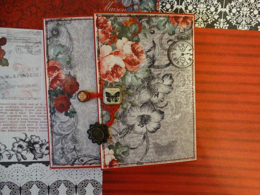 Автор: ЛюдмилаИвановна, Фотозал: Мое хобби, Мини альбом 15Х15, для 22 фото, 2 карточки для записей - 1500 руб ПРОДАН