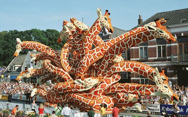 Неудержимый цветочный креатив  в Нидерландах