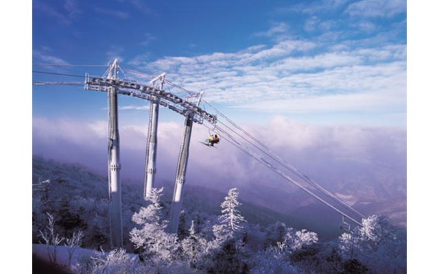 В Южной Корее открылся лыжный сезон