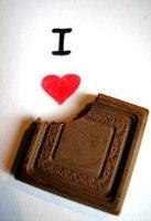 Мое фото я люблю шоколад