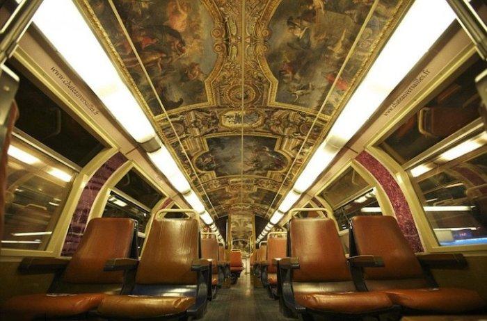 Секс в поезде париж